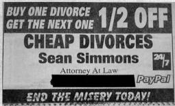 Funny-Newspaper-Ad-Buy-one-divorce-get-the-next-one-half-off