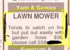 mower-on-fire-for-sale