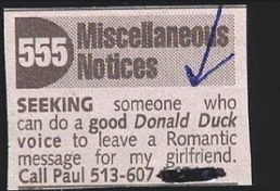 funny-donald-duck-impression-personals