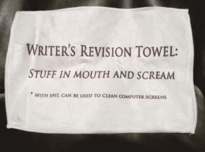 writer's revision towel