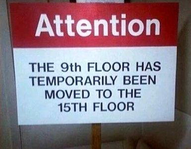 Floor moved