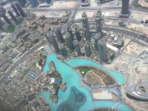 A further view from the 148th floor of the Burj Khalifa